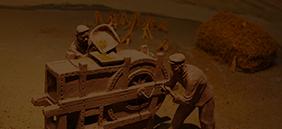 中国传统农具陈列