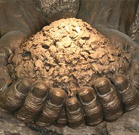 《中国土壤标本》陈列